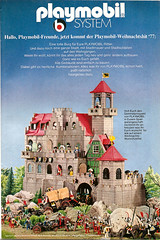 Reklame Playmobil (1977) (jens.lilienthal) Tags: castle classic vintage advertising toys reclame ad advertisement knights advert werbung 1977 schloss spielzeug reklame playmobil ritter abenteuer ritterburg amzeige zeitungsreklame