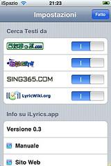 ilyrics for iphone