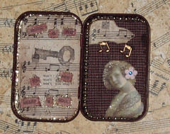 Music Tin - Inside - Altered Altoid Tin