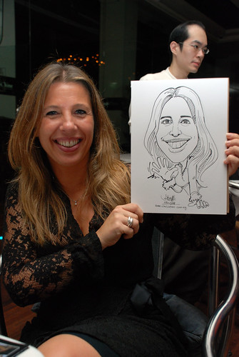 Caricature birthday party 190108 10