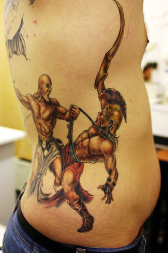 Fighting-Warriors Tattoo
