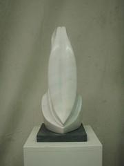 1999 Weiblich-Männlich Sivec Marmor 47.5 cm 4 (sepp pfiffner) Tags: schweiz skulptur chur grind atelier künstler maler marmor calanda pfiffner skulpturen bildhauer langhals trimmis sepppfiffner