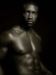Black IS Beautiful (Allwyn_Forrestor) Tags: lighting camera bw male celebrity muscles portraits studio photography photo blackwhite blog artist noir foto fotografie leute photographie photoshoot faces gente atl alma famous citylife handsome style entertainment blackman publicity anima blacknwhite photosession uber malemodel seele urbanlife fotografa fotographie me schwarzer lesgens africanamercian lagente allwynforrestor blancnoir allwyn urbanstyle uomonero fotographia entertainmentindustry atlantaphotographer photoimages modelbodybuilder homempreto allwynforrestorcom entertainmentculture povosla
