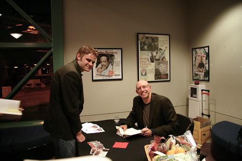 Michael Pollan book fan photo