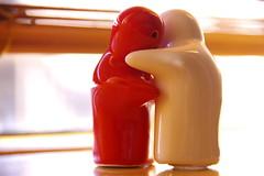 Abstracted windowsill embrace (Johan_Leiden) Tags: wedding red white abstract love dof together embrace windowsill figures stay embracing allyouneedislove blueribbonwinner abigfave theperfectphotographer goldstaraward