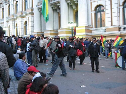 La Plaza Murillo 28 de Febrero de 2008