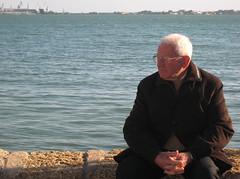 MaRiNeRo eN TieRRa (RoOoOo!!!) Tags: ocean sea water real puerto mar agua poetry grandfather oldman bahia cadiz poesia rafael anciano calma abuelo alberti reposo tranquilidad poetryforall