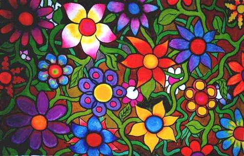 Flores en sueños