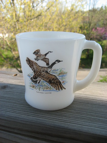 Fire King Goose Mug
