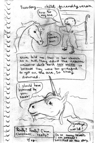 NJG Unicorn Comic