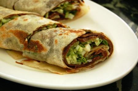Kam Hong Garden: Beef wraps
