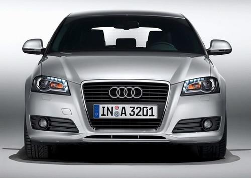 Audi A3 White Sportback. 2009 Audi A3