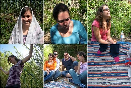 mosaico do picnic 4 | amigos