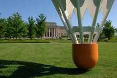 Nelson Atkins Museum in KC - 05 (eligmon) Tags: sculpture art architecture kansascity missouri badminton shuttlecock nelsonatkinsmuseumofart