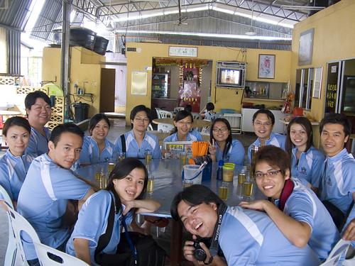 The makan geeks at Gua Musang