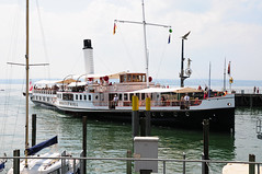 Bodensee / Steamer (Habub3) Tags: travel photo nikon steamship hafen bodensee steamer dampfschiff d300 meersburg lakeconstance hohentwiel viewonblack habub3