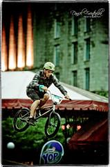 Jimmy Croquet (DFUENTEALBA.com) Tags: city urban canada bike jump freestyle ride mountainbike qubec trial obstacles vertige acrobacy placedyouville anawesomeshot dancl vlirium2008 dliriumurbain2008