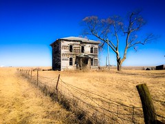 somewhere down that broken road....(on the road to kansas house) (Aces & Eights Photography) Tags: abandoned abandonment decay ruraldecay oldhouse abandonedhouse