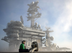 ussnimitz nimitz aircraftcarrier carrier navy usnavy sailor my68 insurv flightdeck pacificocean