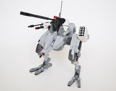 MTG-04-Striker (ExclusivelyPlastic) Tags: lego mech mecha design robot scifi military bipedal