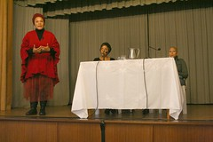 Lebo Mashile, Ronelda Kamfer and Blaq Pearl