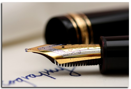 letter writing is a dying art by Linda Cronin.