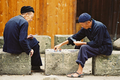Xijiang-men playing cards