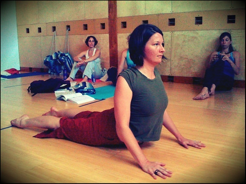 Bhujangasana by kellinahandbasket, on Flickr