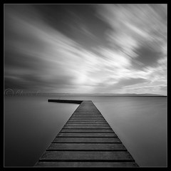 Without.............. (Digital Diary........) Tags: longexposure clouds liverpool movement jetty fineart motionblur wirral westkirby weldingglass