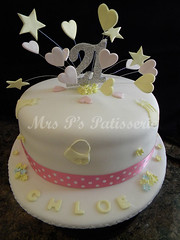 Chloe's 21st starburst 'hat' birthday cake (Mrs P's Patisserie) Tags: birthday flowers food cakes cake cupcakes baking tea celebration patisserie novelty dresses handbag starbust
