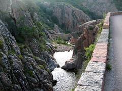 Le Dardu (en eau) vers le barrage du Mulinu