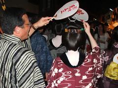 Fleeting geisha - DSCF5384 (Dlamini) Tags: kyoto geisha gion matsuri 2007
