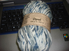 Opal Sock Yarn Cream
