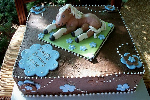 horse cakes for girls