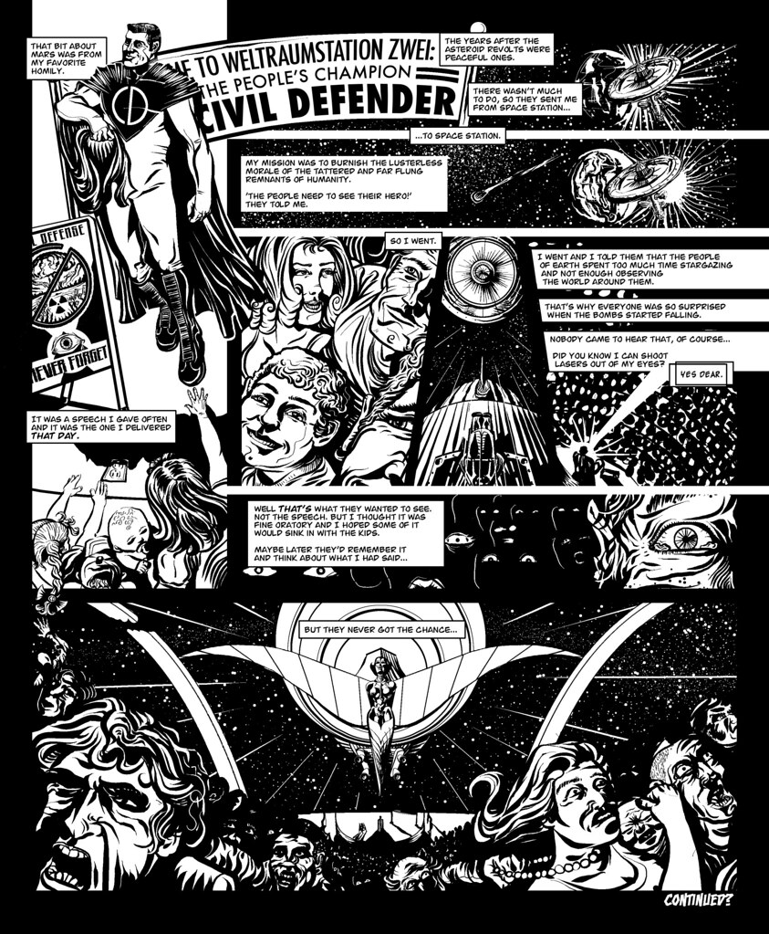 The Civil Defender: Space is the Place for Love - Page 2