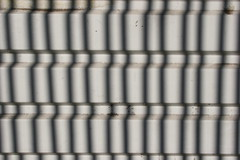 lines on lines (Phil Dowsing Creative) Tags: light shadow red sun sunlight abstract black color colour green lines bike bicycle pattern colours shadows place market patterns bricks bikes bicycles fabric shutters abstracts railings peterborough brickwork natual