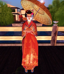 Machinima Sim _ Japanese Edo Set