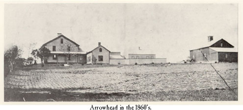 Arrowhead in the 1860s