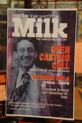 Harvey Milk casting Dec. 8th