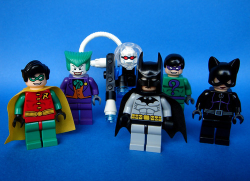 Minifigures for Lego Batman