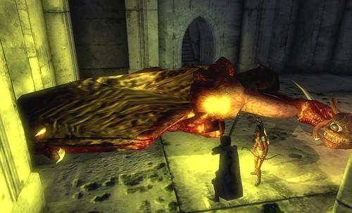 ドラゴンのウロコ回収