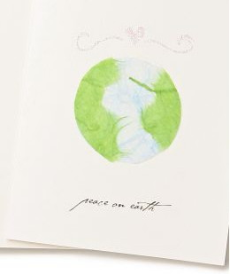 Anthropologie.com > Peace on Earth Card