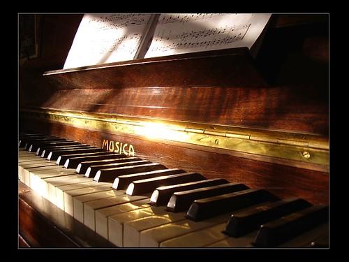 Divertissement causé par un morceau de piano (Coppée)