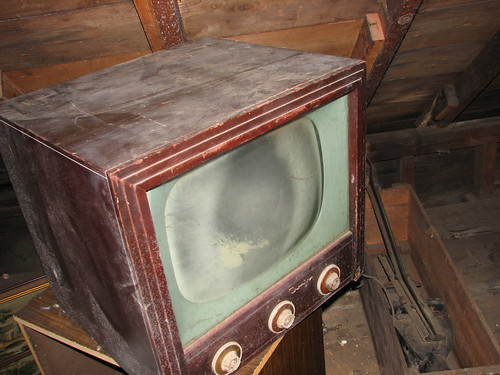 Old Crosley TV