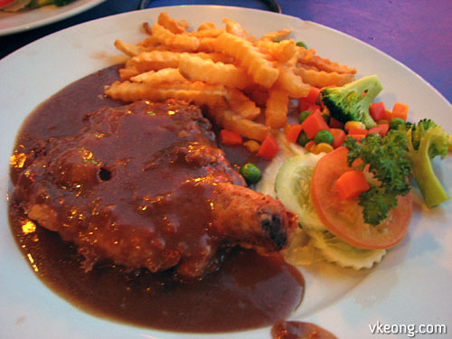 garlic chicken chop