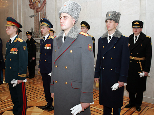 In Russian Military Uniforms 57