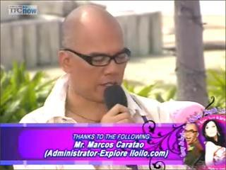 Boy Abunda mentions ExploreIloilo.Com again in Part 2 of Boy&Kris feature of Iloilo and Guimaras