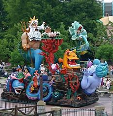 Little Mermaid (moacirdsp) Tags: 2005 paris france ledefrance little disneyland disney parade resort mermaid fantasyland seineetmarne marnelavalle colorphotoaward disneylandparisresort flickrestrellas