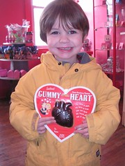 Rock Candy gummy heart