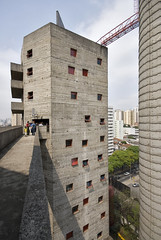SESC Pompeia 31 (weyerdk) Tags: brazil sports architecture concrete communitycentre conversion saopaulo modernism leisure stacking glassroof reuse sesc linabobardi industrialculture betonbrut diaadiabrasileiro pompeiafactory 197786 verticalsportsground